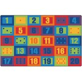 Learn to Count Seating Kids Rug