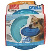 Orka Flyer Chew Dog Toy in Blue
