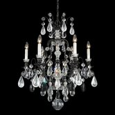 Renaissance Rock Crystal 7 Light Chandelier