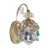 The Rose One Light Down Light Wall Sconce