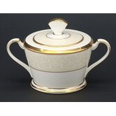 White Palace 11.5 oz. Sugar Bowl with Cover