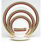 Ruby Coronet 5 Piece Place Setting with Box