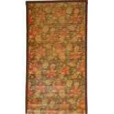 Intersection Floral Medium Brown Rug