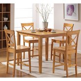 Cobalt 5 Piece Counter Height Dining Set
