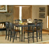Durham 9 Piece Counter Height Dining Set