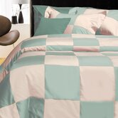 Egyptian Cotton 600 Thread Count 3-piece Queen Patchwork Duvet Cover Set