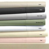 Egyptian Cotton 600 Thread Count Solid Duvet Cover Set