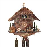 20&quot; 8-Day Movement Cuckoo Clock with Two Different Animations
