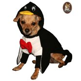 Penguin Hoodie Dog Costume