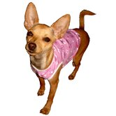 Bicycle Dog Tank in Pink
