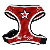Super Star Dog Harness Vest in Red