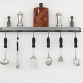 "Sterling 34"" Wall Mounted Pot Rack"