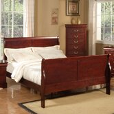 Louis Philippe Sleigh Bedroom Collection