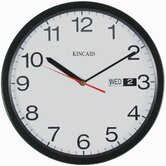 Wall Clock with Black Frame