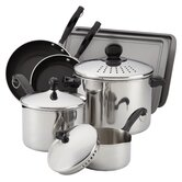 Classic Stainless 10-Piece Cookware Set