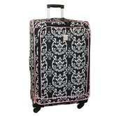 "Damask 360 Quattro 28"" Spinner Upright in Black Pink"