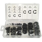 Black Bull 300 Piece E-Clip Assortment Set