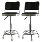 "18"" AmeriHome Adjustable Height Shop (Set of 2)"