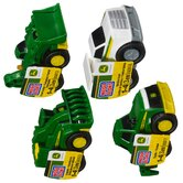 John Deere Small Buildable (4 Pack)