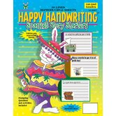 Happy Handwriting Paper Spanish S