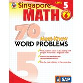 70 Must Know Word Problems Level 5