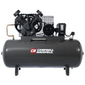 10 HP 120 Gallon Two Stage 3 Phase Air Compressor with Starter