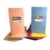 Colorful Paper Bags White 100/pk