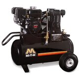 6.5 HP Gasoline Honda / 20 Gallon Single Stage Wheelbarrow Air Compressor