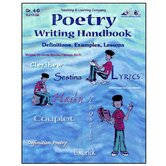 Poetry Writing Handbook Gr 4-6