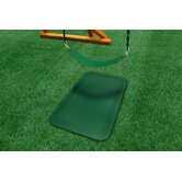 Protective Rubber Mats Pair in Green