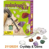 Mining Kit Crystals and Gems