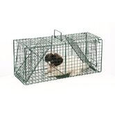 Green Dual Door Live Animal Pet Trap / Cage