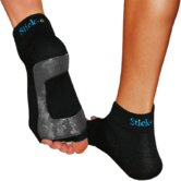 Small Yoga Socks in Black (1 Pair)