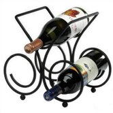 Bordeaux 3 Bottle Tabletop Wine Rack