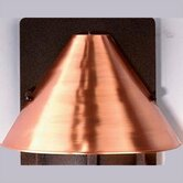 Lakeview Outdoor Wall Lantern Shade Accessory in Satin Copper