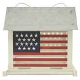 Patriot Feeder in Red / White / Blue