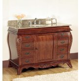 "48"" Sink Bathroom Vanity in Warm Patina"