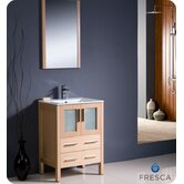 "Torino 24"" Modern Bathroom Vanity with Undermount Sink"