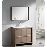 "Allier 36"" Modern Bathroom Vanity with Mirror"