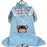 Frog and Monkey PJ Dog Suit Set