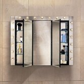 PL Series 30&quot; Tri View Beveled Medicine Cabinet