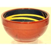Terracotta Pudding Bowl in Green / Yellow (Set of 2)