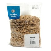 Rubber Bands, Size 10, 1 lb Bag, Natural Crepe