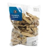 Rubber Bands, Size 84, 1 lb Bag, Natural Crepe