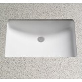 Rimless ADA Compliant Undermount Sink with SanaGloss Glazing