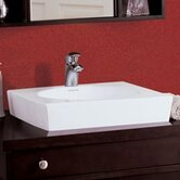 Classically Redefined 19&quot; Square Ceramic Vessel Sink