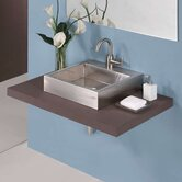 Crofton Vessel Sink in Stainless Steel