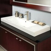 Cityview Vessel Sink in Ceramic White