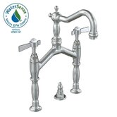 Savina Widespread Bathroom Sink Faucet with Double Lever Handles