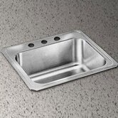 Celebrity 25&quot; x 22&quot; Self-Rimming Stainless Steel Sink